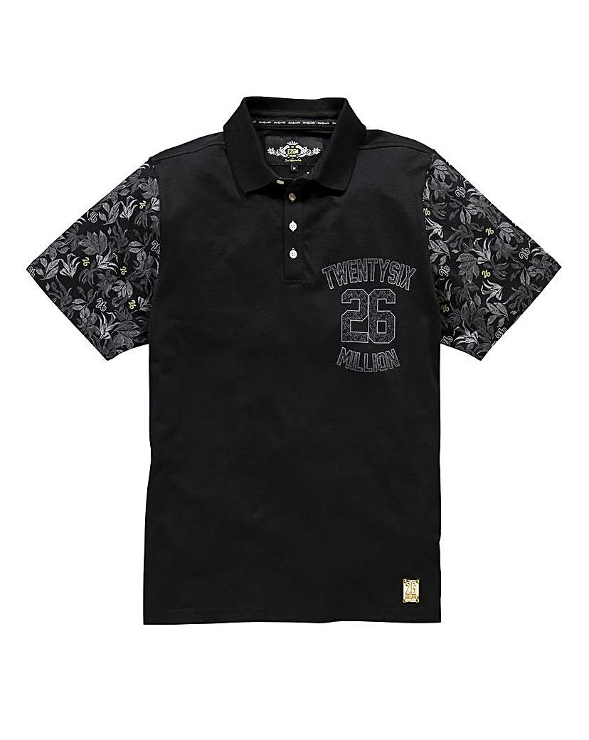 26 Million Orrin Black Polo