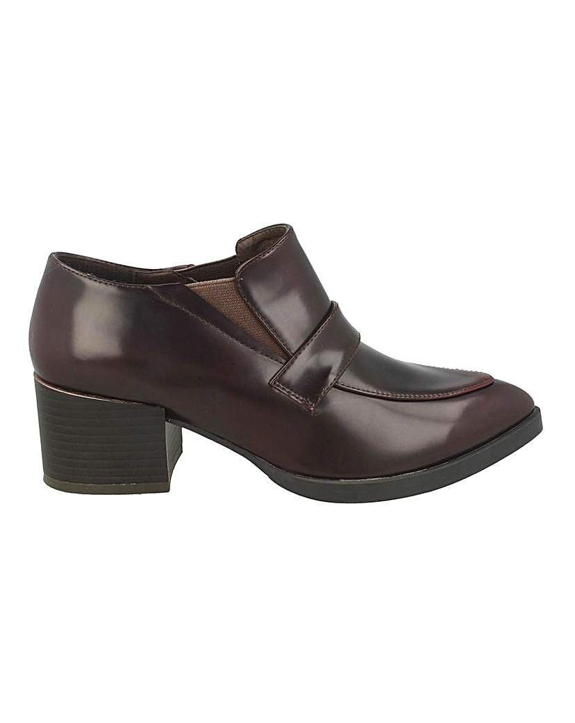 Block Heel Shoe Boot Standard Fit