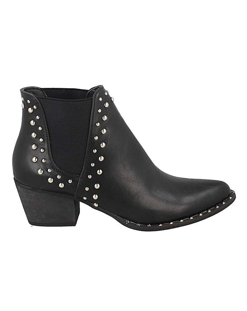 Simply Be Stud Detail Chelsea Boots Standard Fit