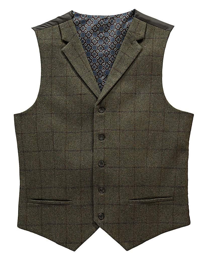 Men's Vintage Inspired Vests Black Label By Jacamo Serano Waistcoat L £36.00 AT vintagedancer.com