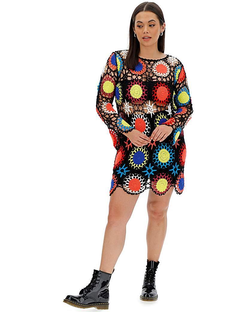 Simply Be Crochet Dress