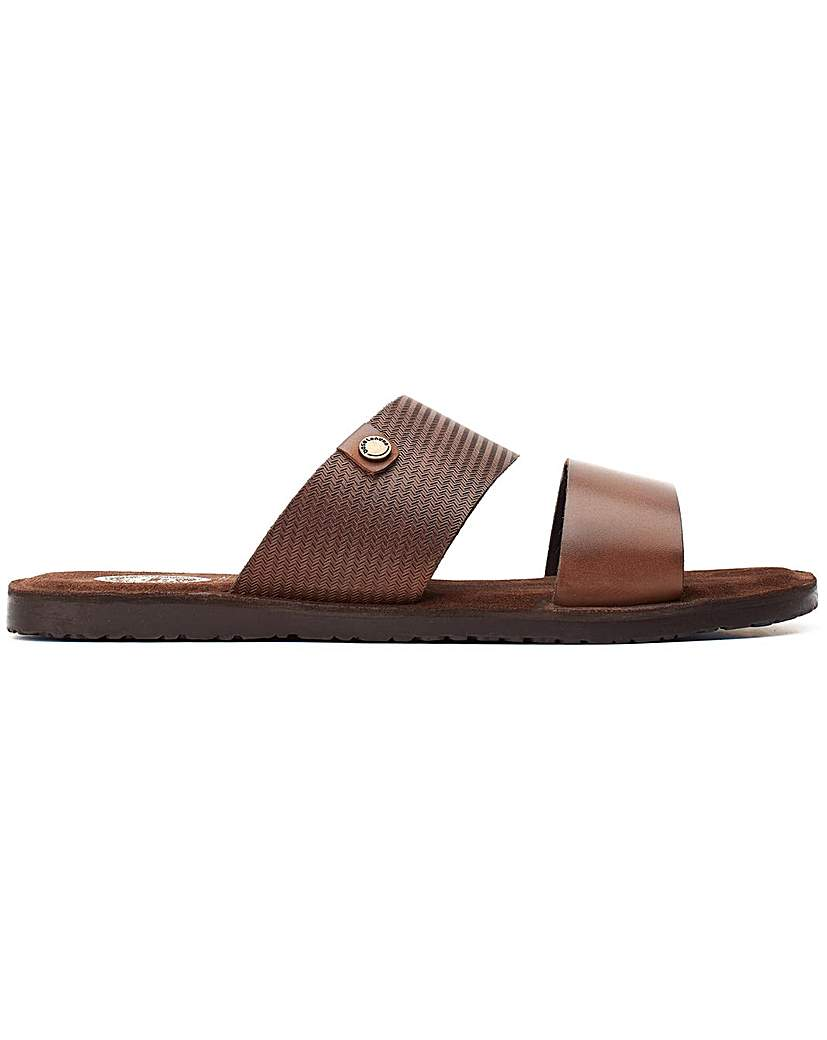 Base London Base London Julius Waxy Slip On Sandal