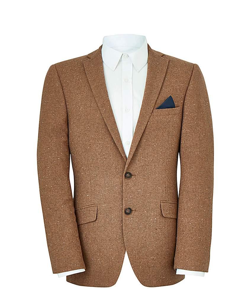 W&B Camel Wool Mix Blazer R