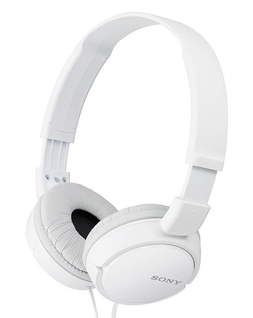 Sony MDR-ZX110W Overhead Headphones