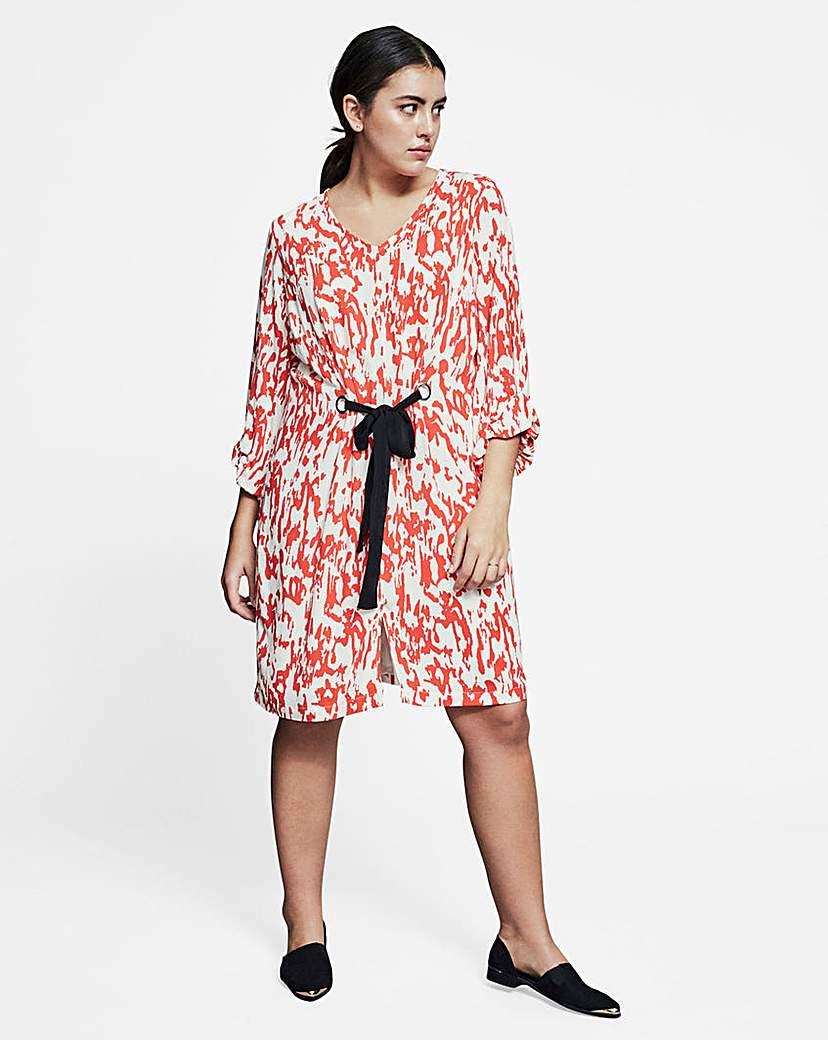 I.Scenery Pran Printed Dress
