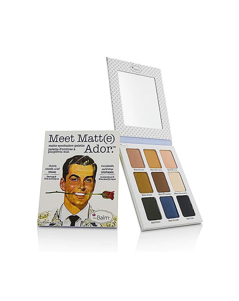 theBalm theBalm Palette Meet Matte Ador