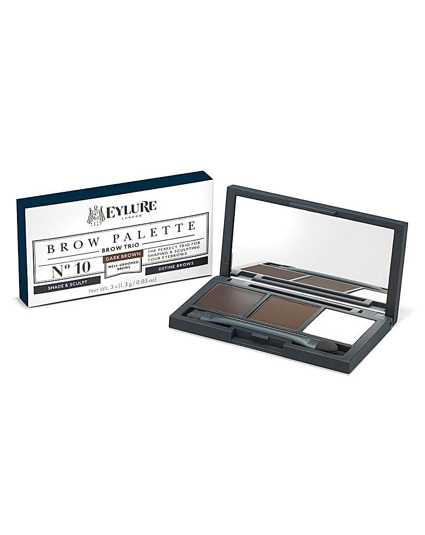 Eylure Eylure Brow Palette Dark Brown