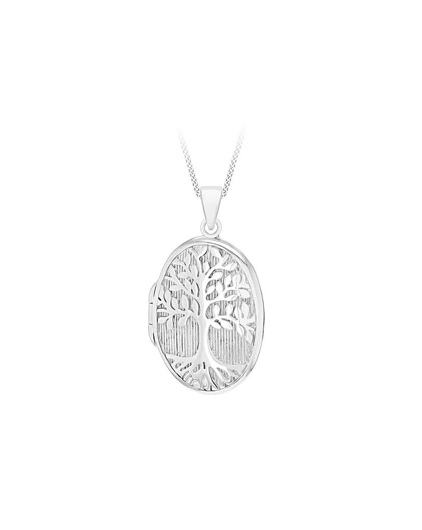 Simply Be Tree Of Life Locket Necklace