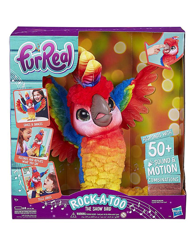 Furreal Rock-a-too The Show Bird