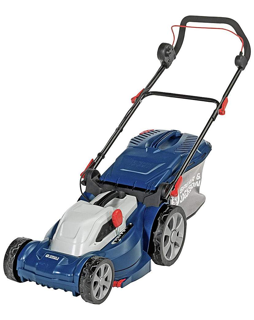 Image of 37cm Corded Rotary Lawnmower - 1600W