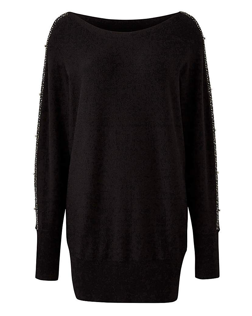 Simply Be Open Sleeve Jumper