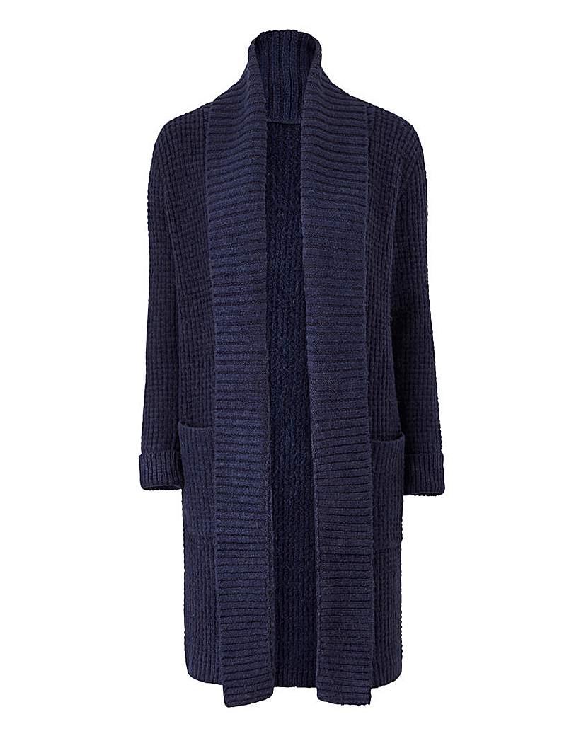 Shawl Collar Longline Cardigan