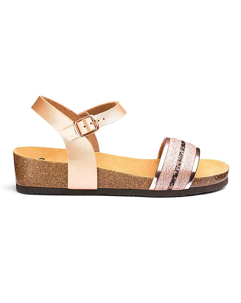 Scholl Scholl Ivette Sling Back Sandals E Fit