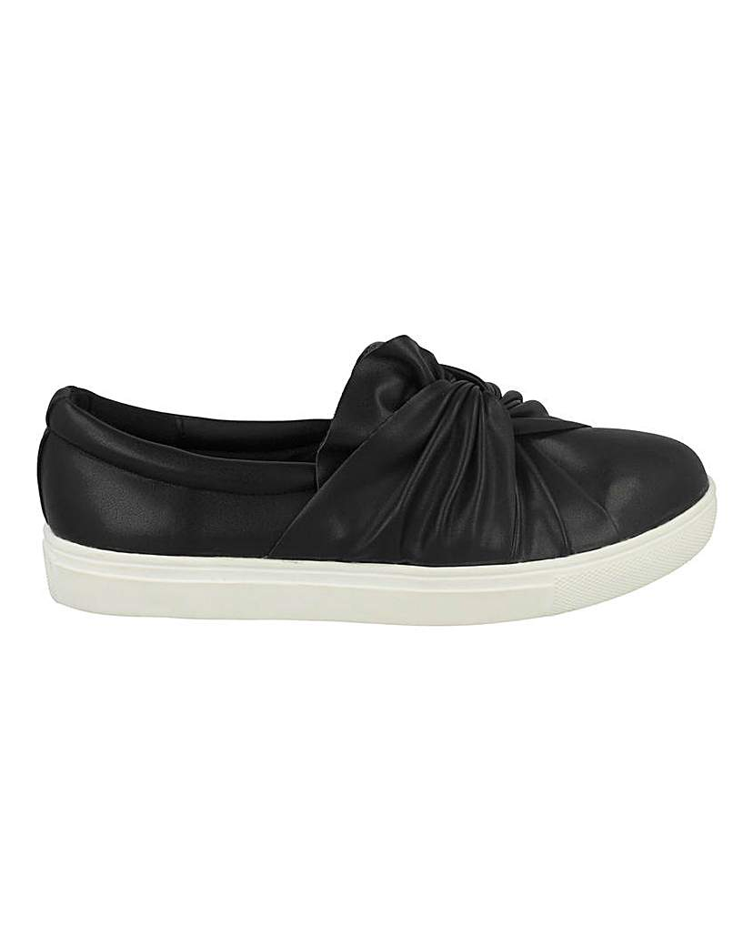 Simply Be Knot Slip On Pump Standard Fit