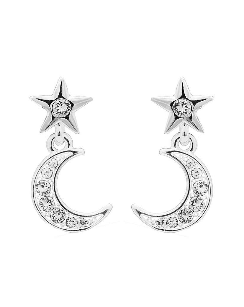 Jon Richard Celestial Swarovski Earrings
