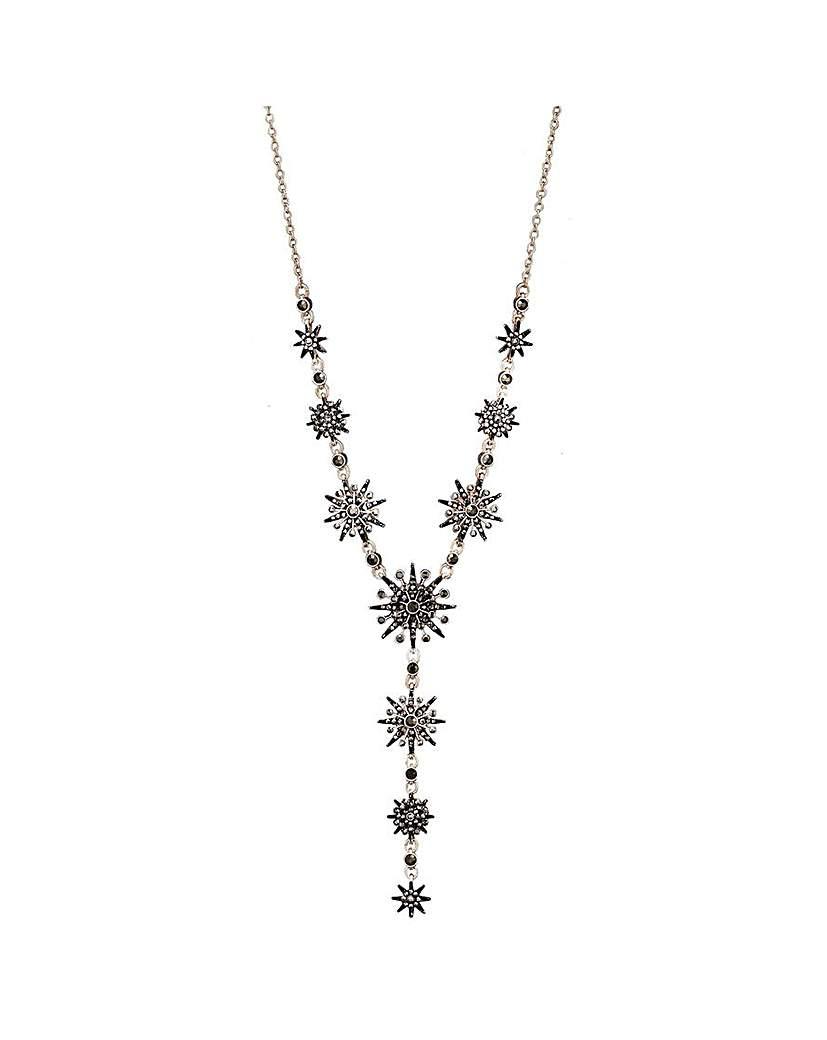 Mood Rose Gold Black Celestial Necklace