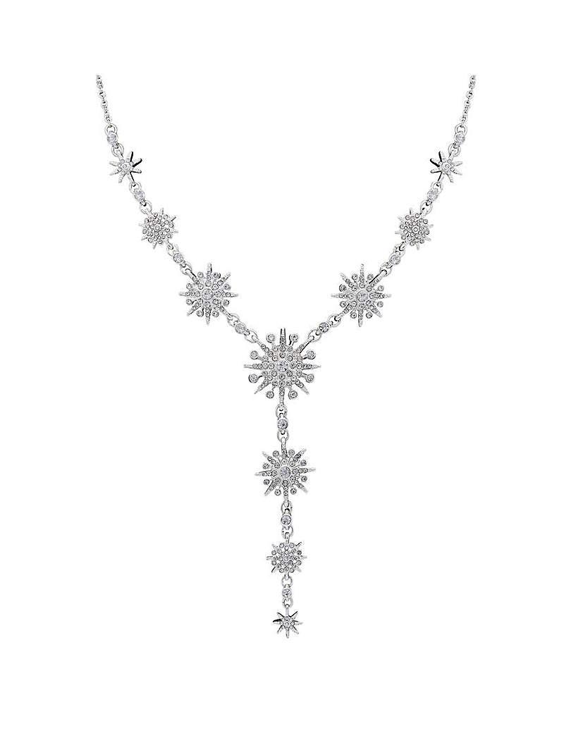 Mood Celestial Starburst Y Necklace