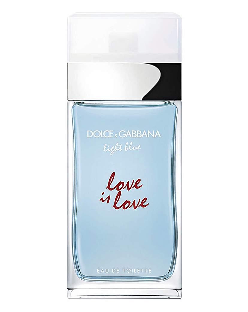 Dolce & Gabbana D&G Light Blue Love is Love 50ml EDT