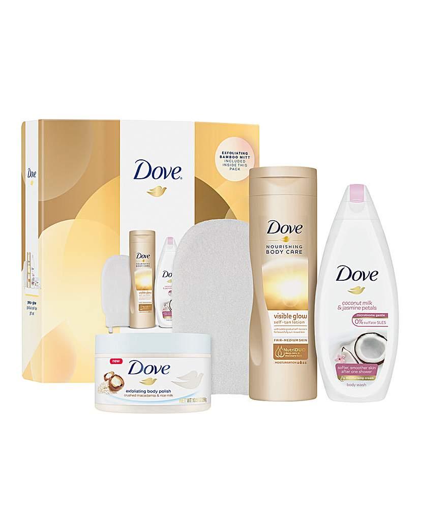 Dove Dove Prep and Glow Gift Set