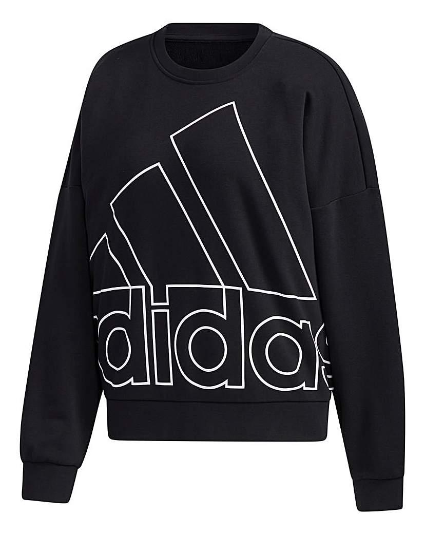 Adidas adidas Favourites Big Logo Sweatshirt