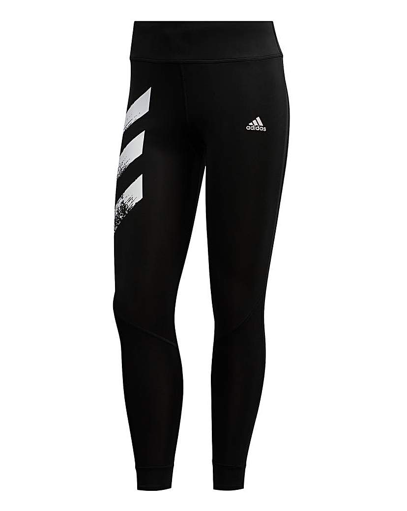 Adidas adidas Own The Run 3-Stripes Fast Tights