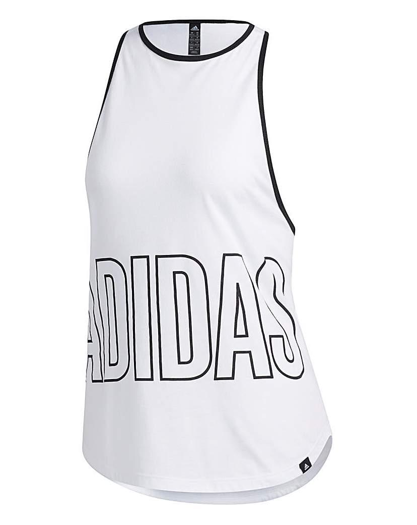 Adidas adidas Alphaskin Graphic Tank Top