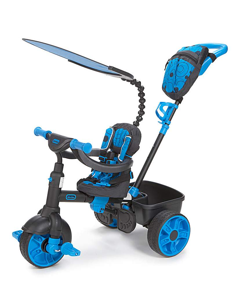 Little Tikes 4in1 Dlx Edition Neon Blue