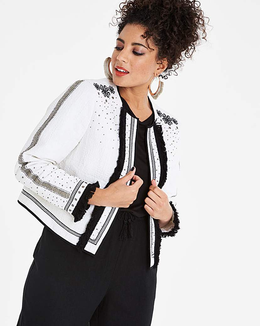 Simply Be Beaded Trophy Jacket