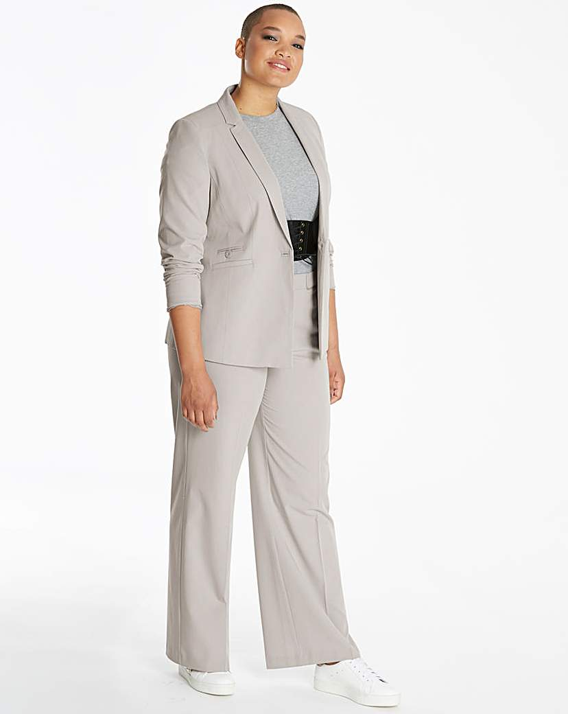 Simply Be Stitch Detail Tailored Jacket