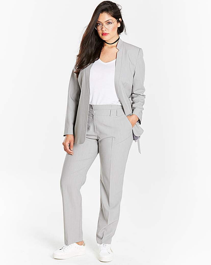 Simply Be D-Ring Belted Tailored Jacket