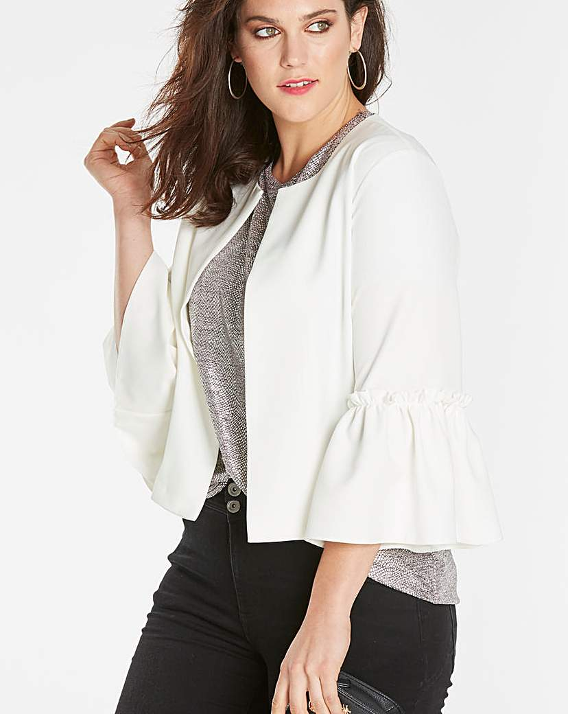 Simply Be Fluted Sleeve Jacket