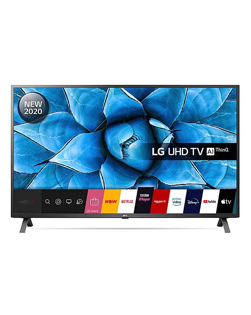 "LG 50UN73006LA 50 Ultra HD 4K Smart TV"""