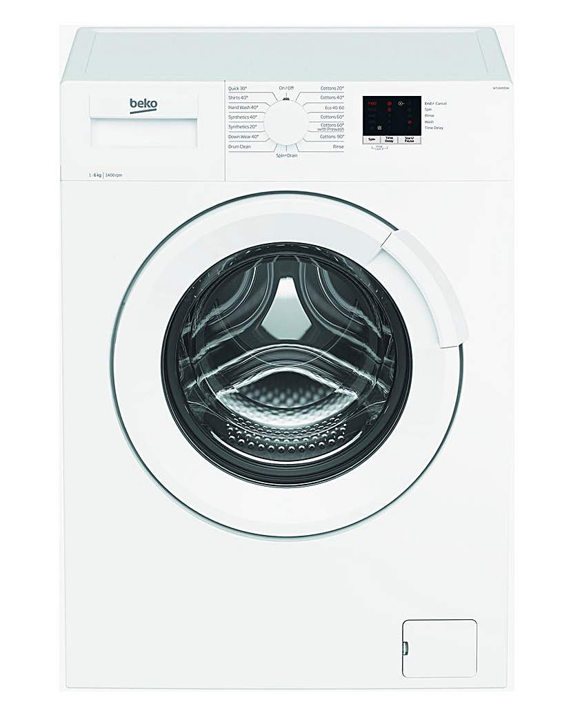 Beko 6kg Washing Machine WHITE WTL64051W