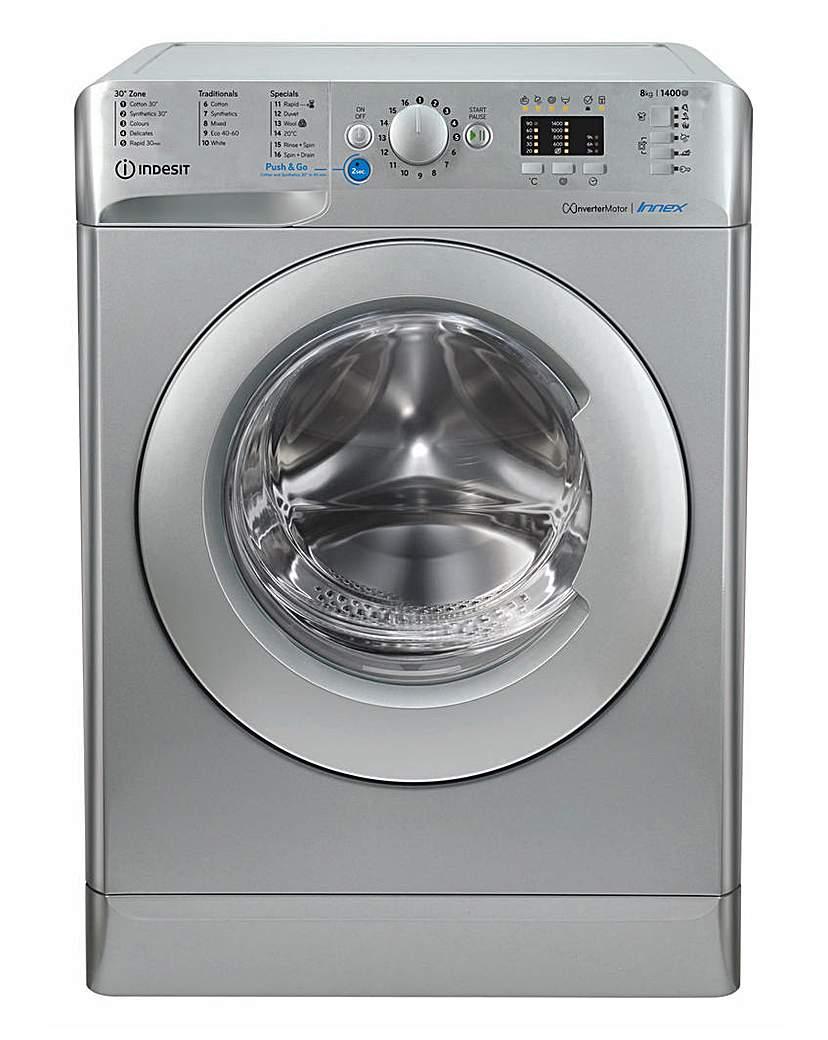 INDESIT BWA81483X Washing Machine + INST
