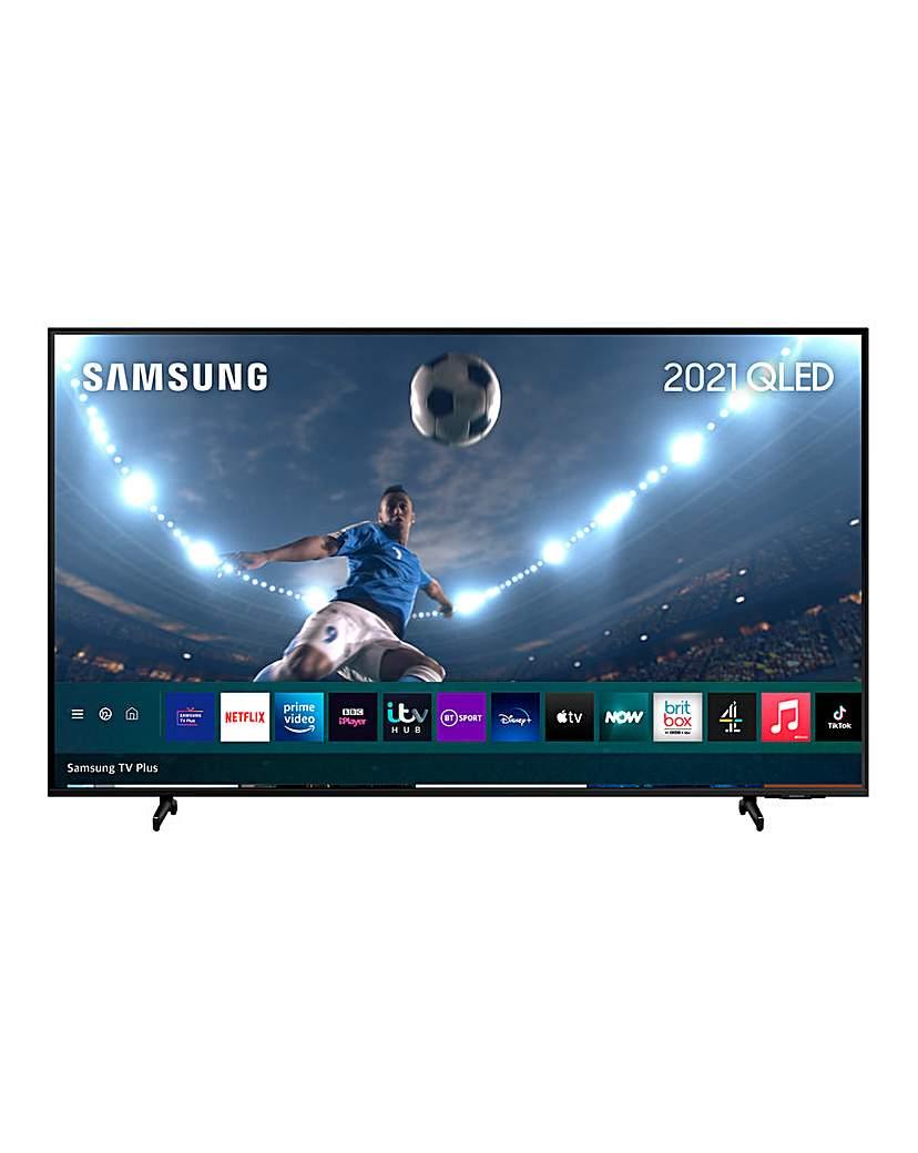 """Samsung QE55Q60AAUXXU 55 QLED 4K TV"""""""