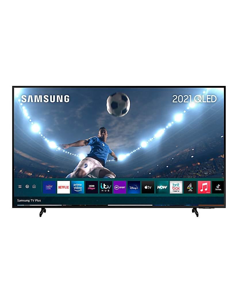 """Samsung QE50Q60AAUXXU 50 QLED 4K TV"""""""