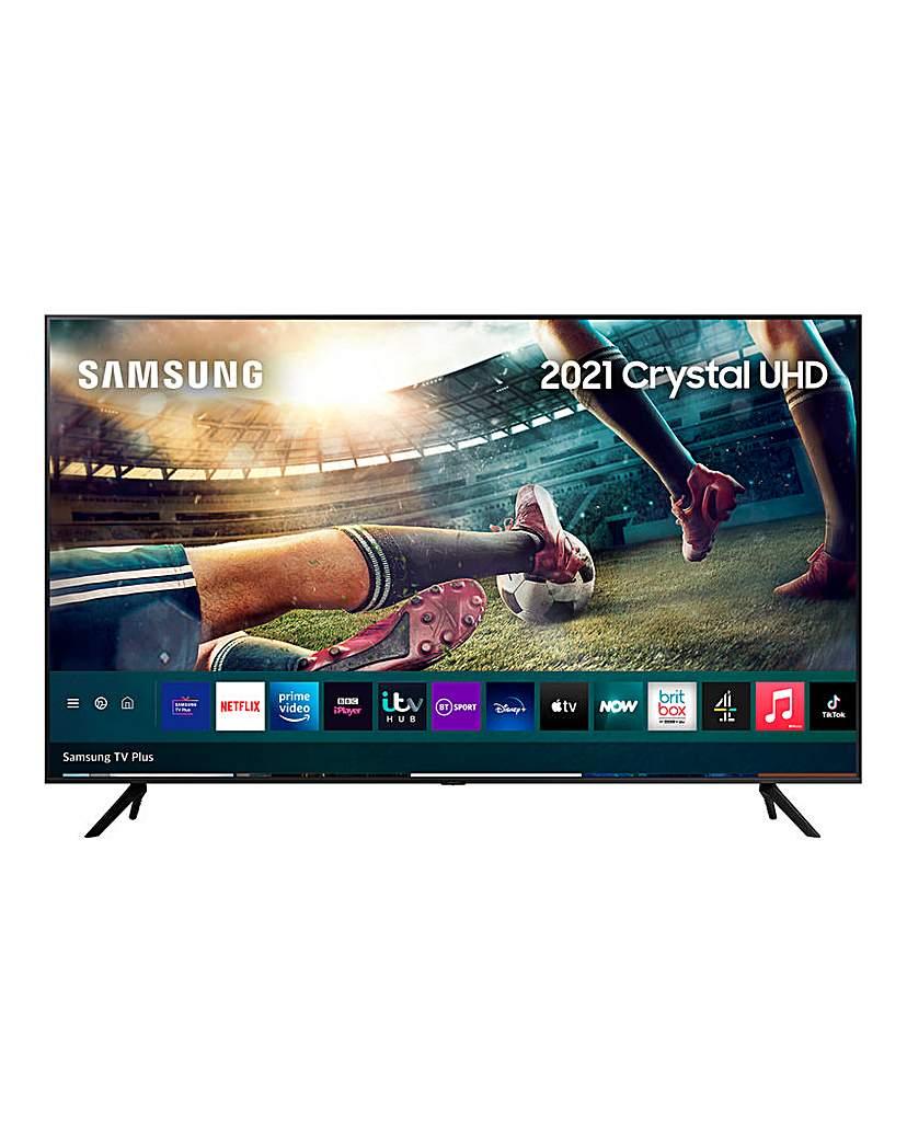 "Samsung UE50AU7100KXXU 50 UHD 4K HDR TV"""