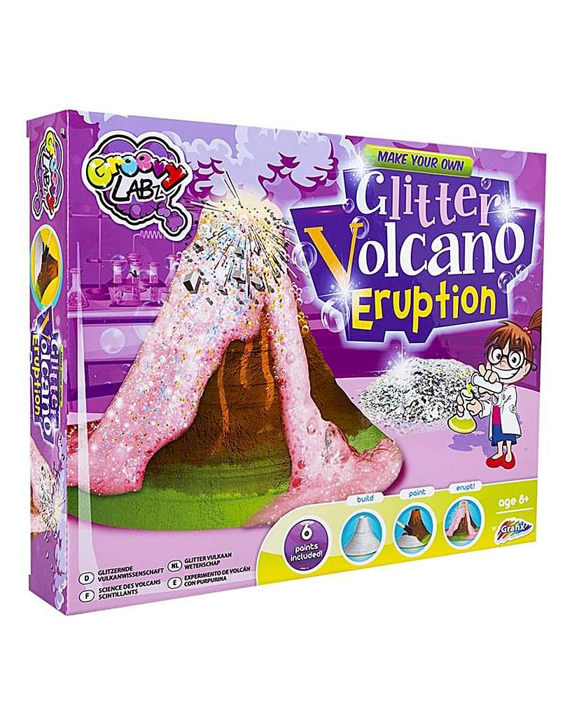 Glitter Volcano Eruption