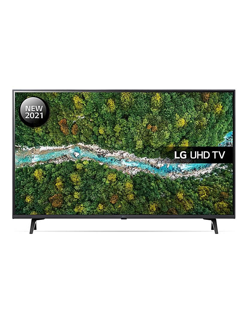 "LG 43UP77006LB 43 Ultra HD 4K Smart TV"""