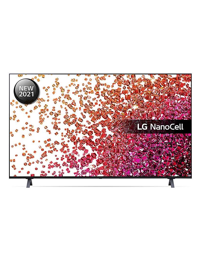 "LG 50NANO756PR 50 4K NanoCell Smart TV"""