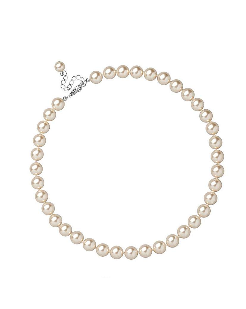 Jon Richard Cream Pearl Necklace