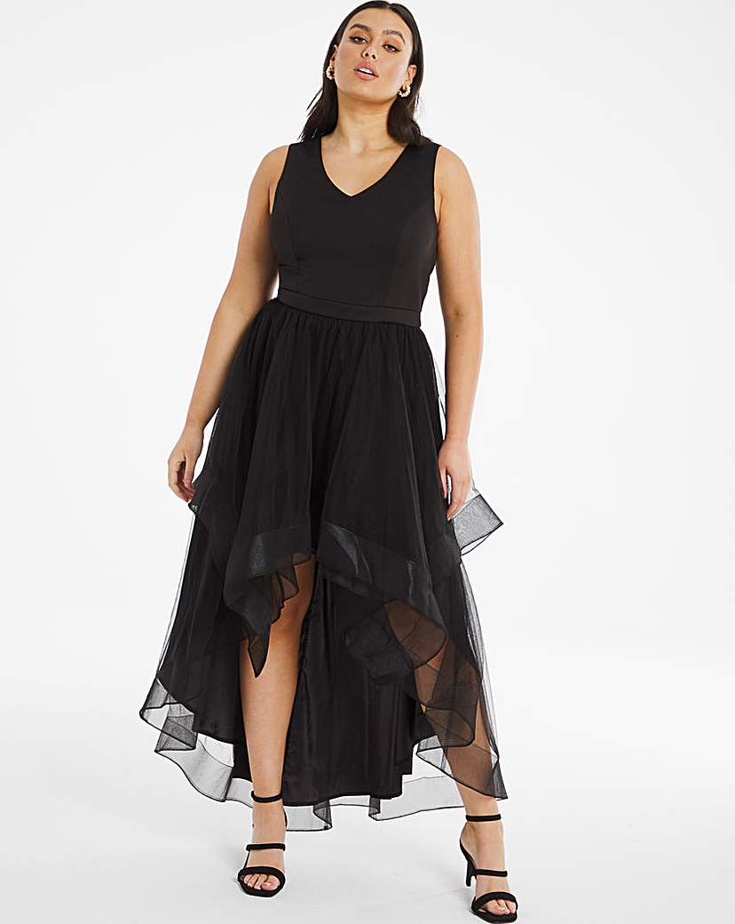 Chi Chi London Chi Chi London Tulle High Low Dress