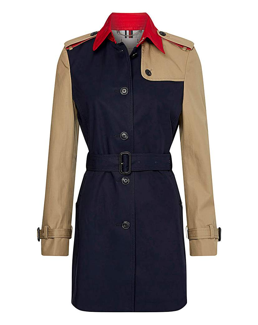 Tommy Hilfiger Cotton Trench