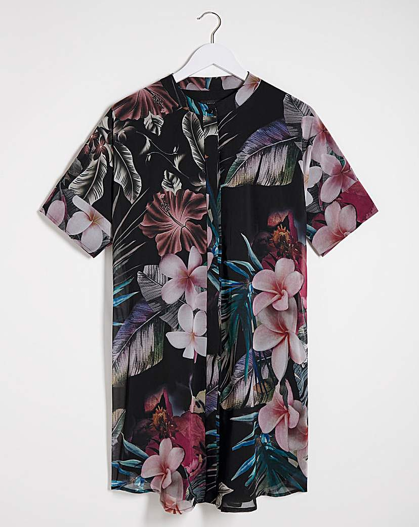 Religion Religion Floral Print Tunic