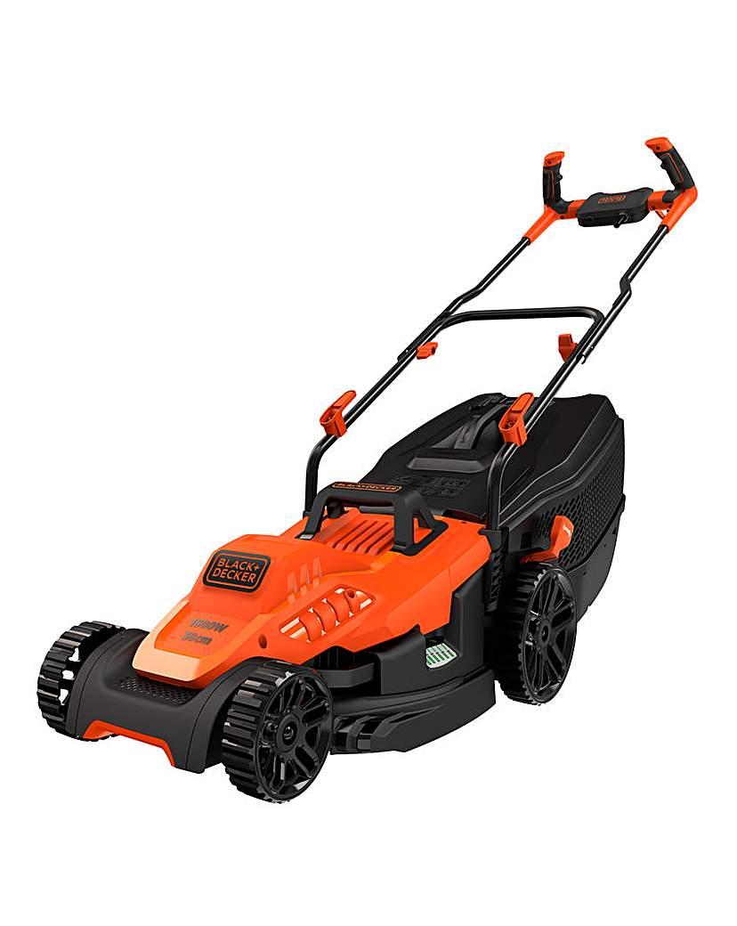 Image of Black + Decker 1600W Lawnmower