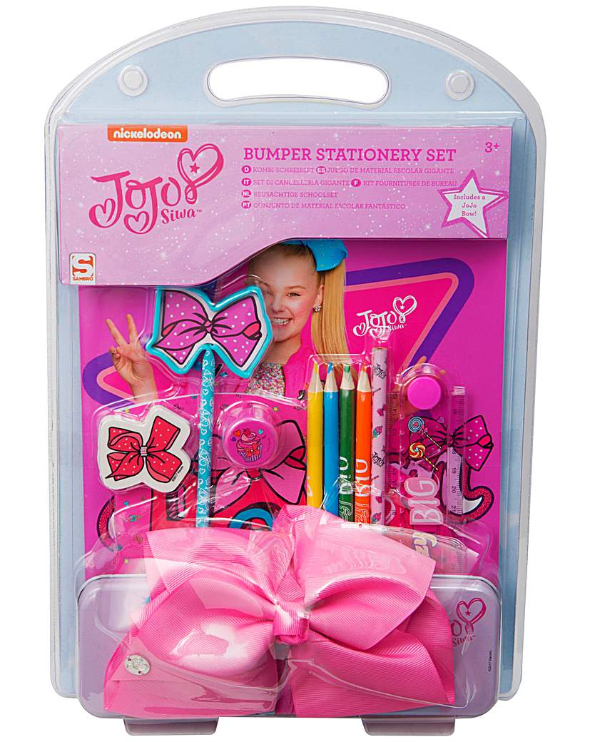 Image of JoJo Bows Bumper Stationery Set with Bow