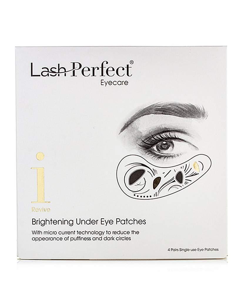 EYE LASH DESIGN Brightening Under Eye Gel Patches 4 Pack