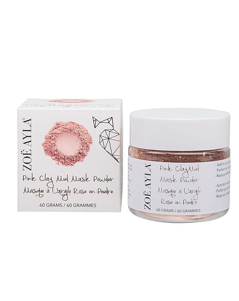 ZOE AYLA Pink Clay Mud Mask Powder