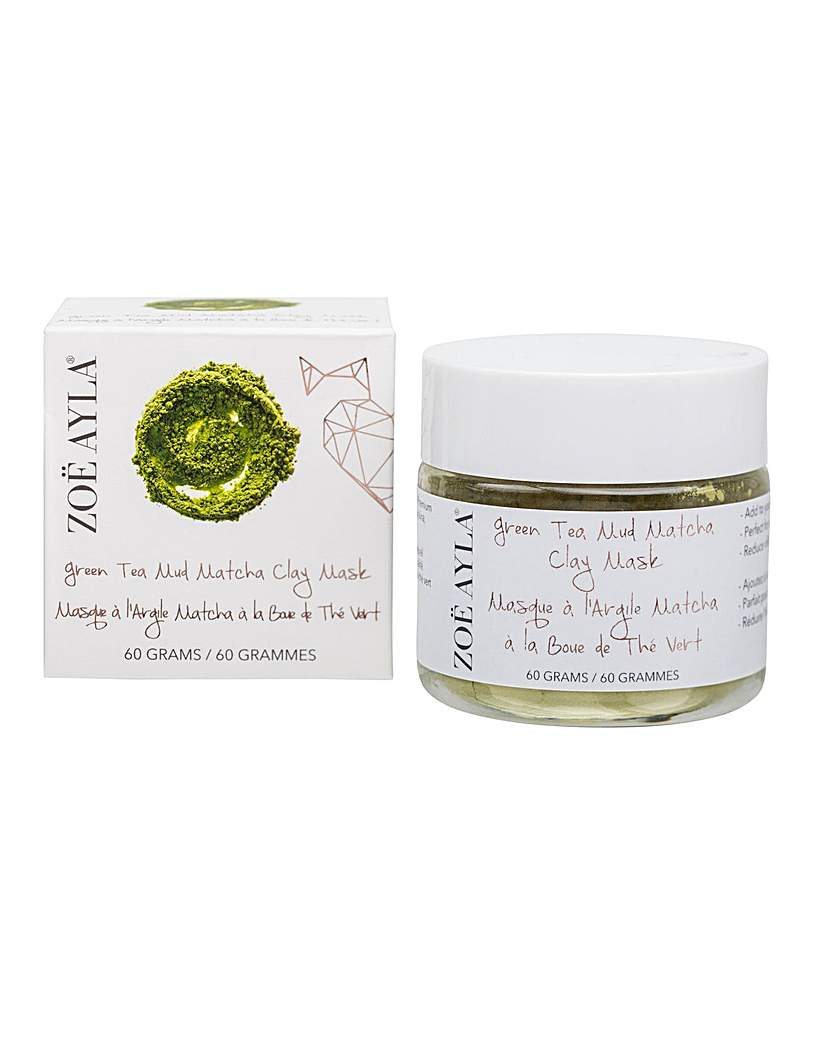 ZOE AYLA Green Tea Mud Matcha Clay Mask