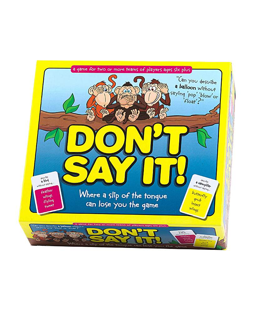 Image of Don't Say It Word Game